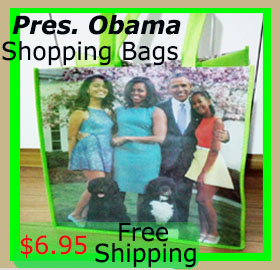 Graphic Design ShopBagObama($6)